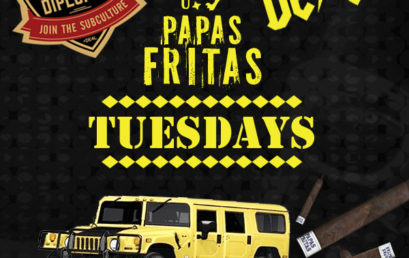 Papas Fritas Tuesdays!